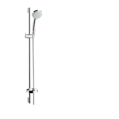 Croma 100 Shower set Vario with shower bar 90 cm and soap dish 27771000