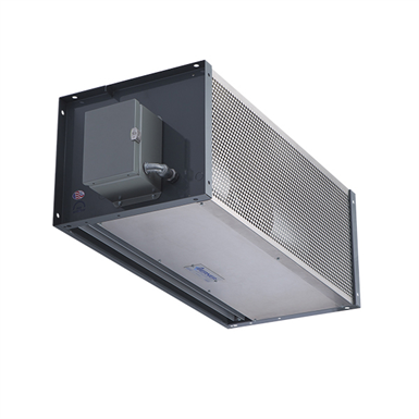 IDC14 - Hot Water - Berner Industrial Direct Drive 14 Air Curtain