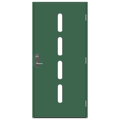 Exterior Door Character Beat RC3 - Burglary Resistant