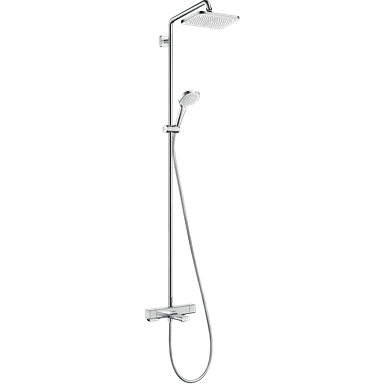 Croma E Showerpipe 280 1jet with bath thermostat 27687000