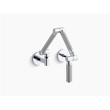 KARBON® ARTICULATING TWO HOLE WALL