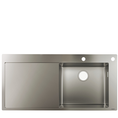 S717-F450 Built-in sink 450 with drainboard 43307800