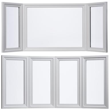TUSCANY® SERIES/MONTECITO® SERIES BAY WINDOW / BOW WINDOW (Milgard