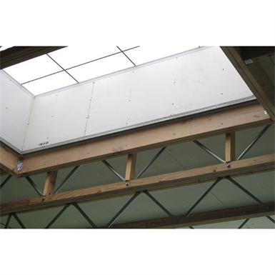 Radius Pitched Profile Open-Web Trusses, Red-W™