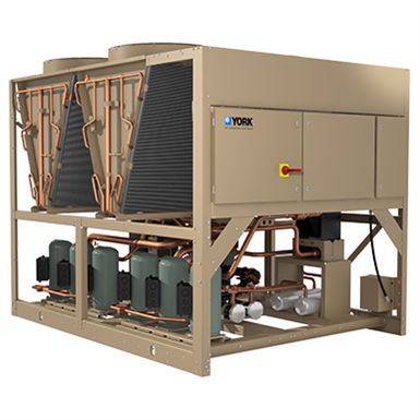 YORK® YLAA AIR-COOLED SCROLL CHILLER, 58 TON TO 175 TON
