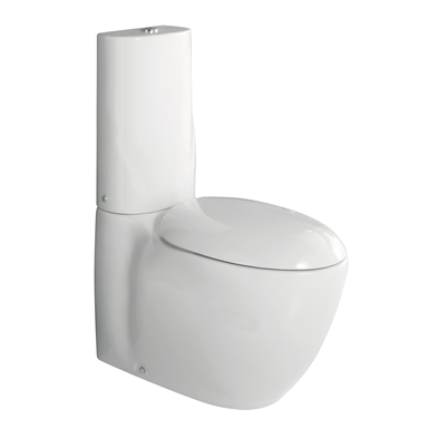 Clas+ close coupled WC wall/floor trap