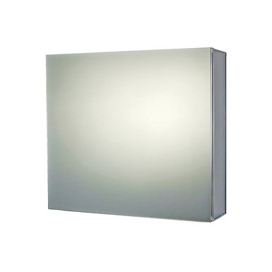 "Premier Series Polished Edge Single Door Medicine Cabinet - 24"" x 30"" Surface Mounted"