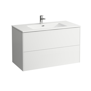 LAUFEN PRO S Combination of washbasin with vanity unit 1000 mm