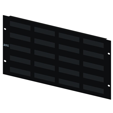 Rack Mount Patch Panel, 568A/B wired, 12 to 120 port, 1U to 5 U