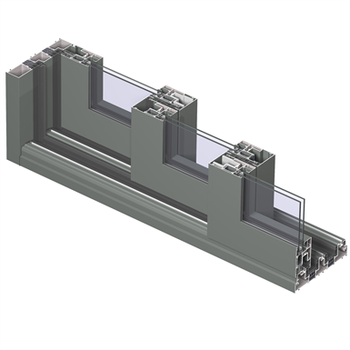 Reynaers - Sliding Element - CP 155-LS