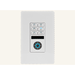 MET-6N Metreau 6-Button Keypad with Navigation, for Simple Control of Up To 6 Connected System Devices
