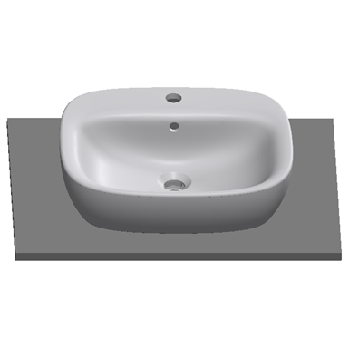 (AUS) DEBBA 500 over countertop washbasin