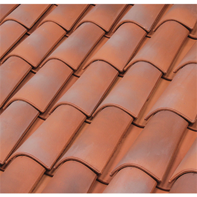 Curved Roof Tile 40
