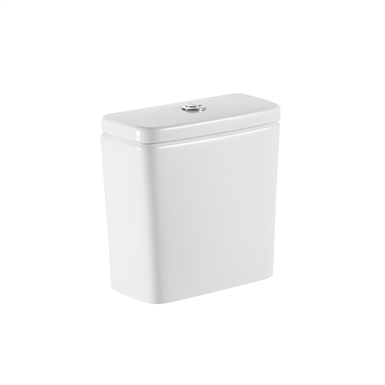 Dual flush 4,5/3L WC cistern with side inlet