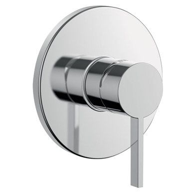 KARTELL BY LAUFEN Set for concealed shower mixer Simibox