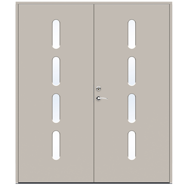Exterior Door Character Beat Double