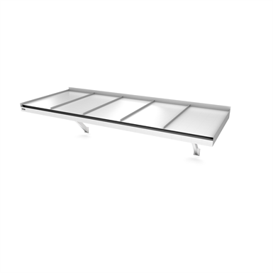 Modern Flat Console Seamed 2500