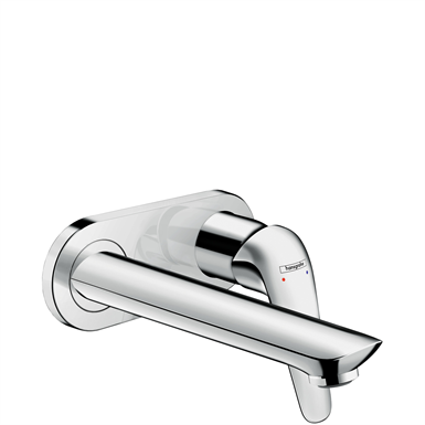 Novus Single lever basin mixer for concealed installation wall-mounted with spout 19.5 cm 71127000