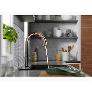 Voice Controlled Touchless Faucets