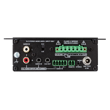 AMP-X50MP  X Series Media Presentation Amplifier