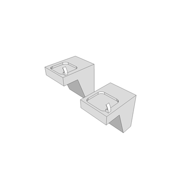 R2201 Fountain Water Crs Wall Mounted 2 Level