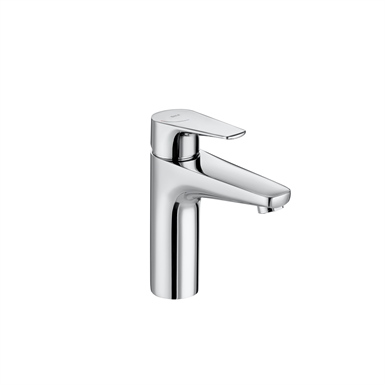 ATLAS Smooth body medium-neck basin mixer, Cold Start