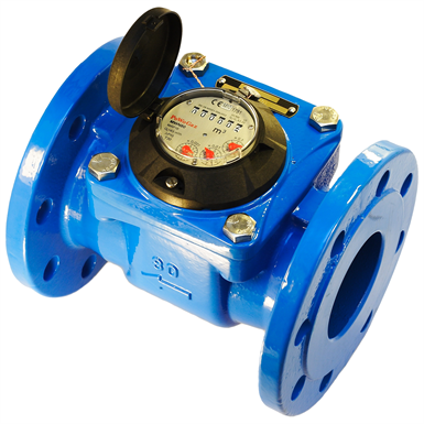 MWN 100 NUBIS PROPELLER WATER METER (WOLTMAN) WITH