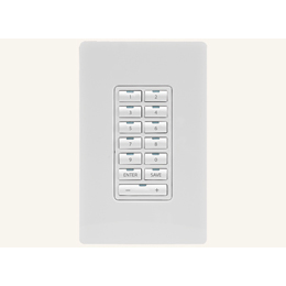 MET-13 Metreau 13-Button Keypad, for Simple Control of Connected System Devices