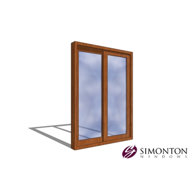 Simonton Sliding Doors >> Reflections 5500 Series Patio Door 2 Lite Simonton
