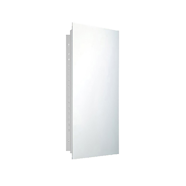 "Deluxe Series Polished Edge Medicine Cabinet - 18"" x 36"" Recessed Mounted"