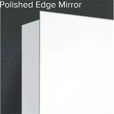 "Residential Series Polished Edge Medicine Cabinet - 16"" x 26"" Recessed Mounted"