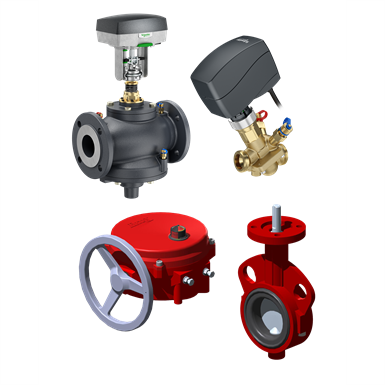 HVAC - VALVES AND ACTUATORS (Schneider Electric) | Free BIM