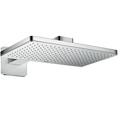 AXOR ShowerSolutions Overhead shower 460/300 1jet with shower arm and softcube escutcheon 35274000