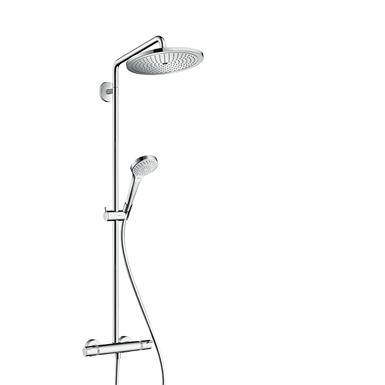 Croma Select S Showerpipe 280 1jet EcoSmart 9 l/min with thermostat 26794000