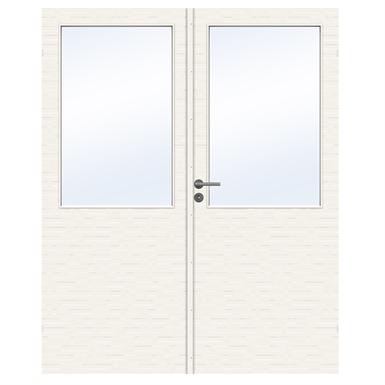 INTERIOR DOOR CHARISMA D100 GW13 DOUBLE UNEQUAL (SWEDOOR