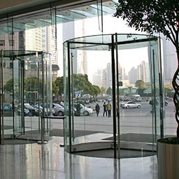 0a2bf4732ba CRYSTAL TOURNIKET - ALL GLASS - REVOLVING DOOR - (USA) (Boon Edam ...