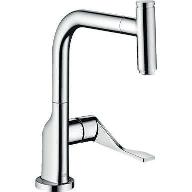 AXOR Citterio Single lever kitchen mixer Select 230 with pull-out spout 39861000