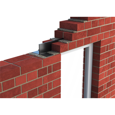 Catnic CN50/CN51 - External solid wall Two-Piece Inverted 'T' Lintels