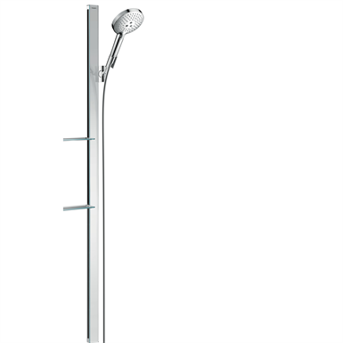 Raindance Select S Shower set 120 3jet EcoSmart 9 l/min with shower bar 150 cm and soap dishes 27647000
