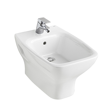 Street Square Wall hung bidet 530x350 mm.