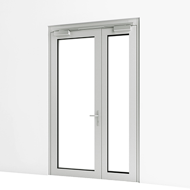 EXTERIOR DOUBLE DOOR (ASSA ABLOY BE)   Free BIM object for ArchiCAD ...