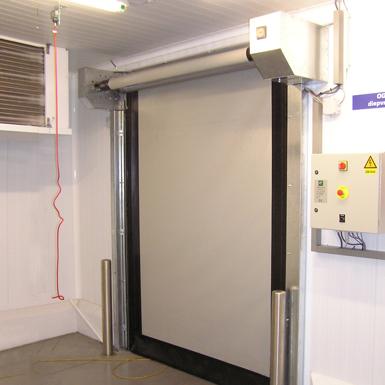 assa abloy hs9010pfr high speed freezer door albany emea. Black Bedroom Furniture Sets. Home Design Ideas