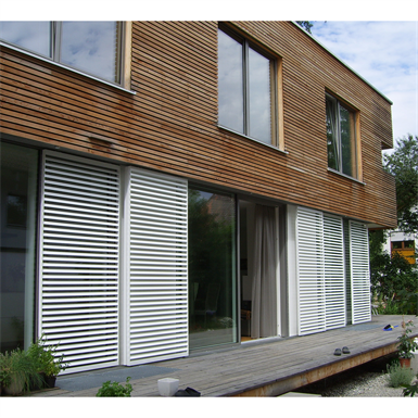 Motorized Sliding Shutter Symmetric Double Leaf Baier Gmbh Free Bim Object For Archicad