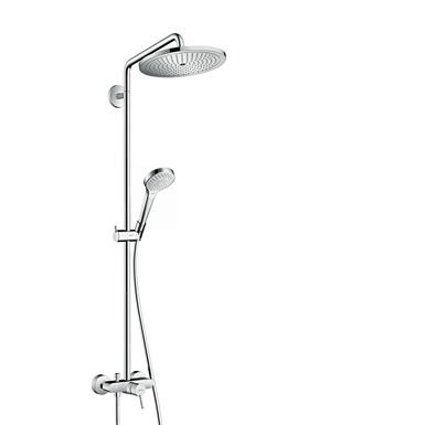 26791000 croma select 280 air 1jet showerpipe with single lever mixer hansgrohe free bim. Black Bedroom Furniture Sets. Home Design Ideas