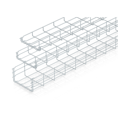 WIRE MESH TRAY GR MAGIC CABLE SYSTEMS (OBO Bettermann) | Free BIM ...