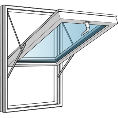 Top hung fully reversible window westcoast windows for Window object