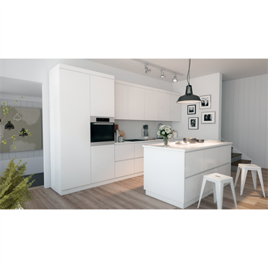 kitchen set modern line elen free bim object for 3ds max