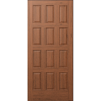 12 Panel Wood Door Interior Commercial Residential With Fire