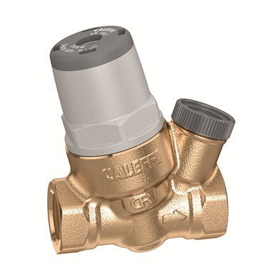 Inclined micro pressure reducing valve for special applications