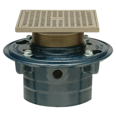 Z415s Ip Floor And Shower Drain Z415 Body Assembly With